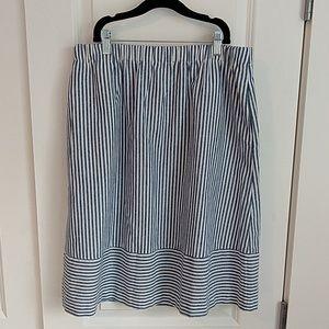 NWT Striped J. Crew factory skirt